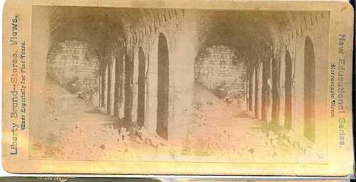 Stereo image of Solomon's Stables