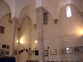 Tomar synagogue built around 1460. 12 columns for the 12 tribes