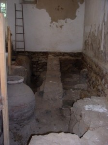 Mikveh recently uncovered adjacent to synagogue in Tomar