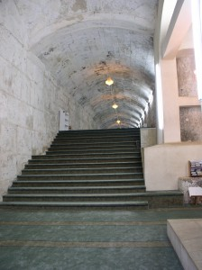 Inside of the double gate- Shaari Hulda- שערי חולדה