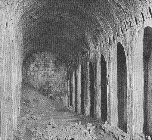 Solomoms Stables - Megiddo-about 1890
