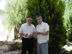 הרב משה דוד טנדלר וארי גרינספן שחיטת החגלה