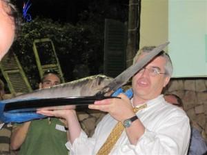 הצגת הדג החרב